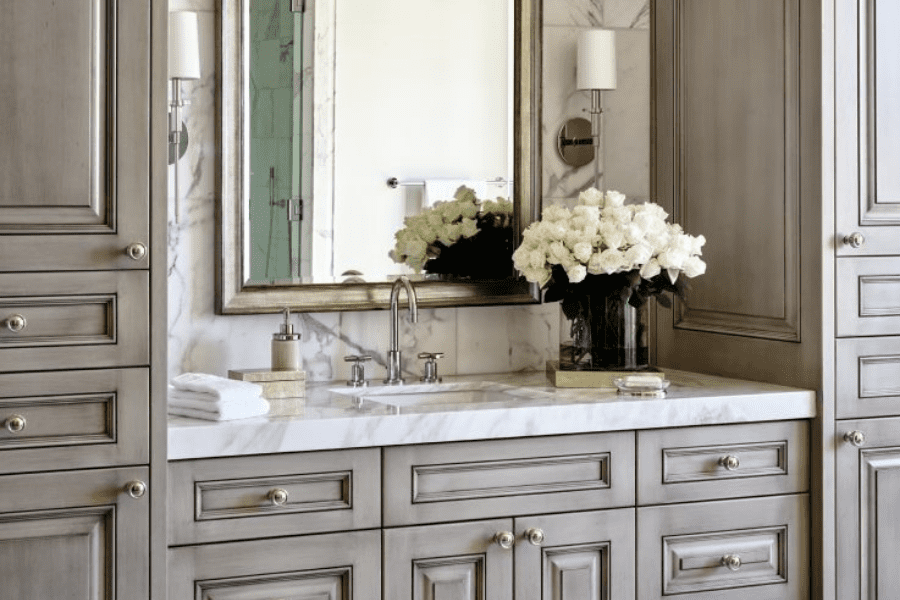 Luxury Bathroom Cabinets and Sink